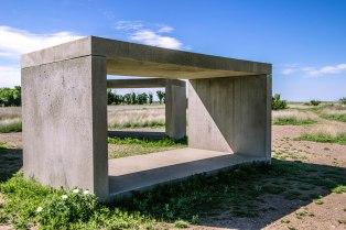 Donald Judd's Concrete Series at the Chinati Foundation in Marfa, Texas
