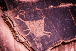 Etched in Stone (Anasazi PetroGlyphs) on the Navajo (Diné) Reservation in Arizona/Utah