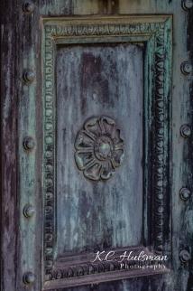 Repose, Detail on a Mausoleum doorway in Sleepy Hollow