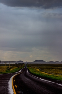 Road out of Marfa