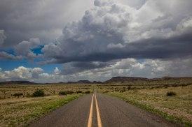 Road to Davis Mountains