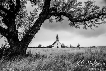 Solitude - St. Olaf's Kirke near Cransfill Gap, Texas
