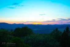 Sunset - the Davis Mountains