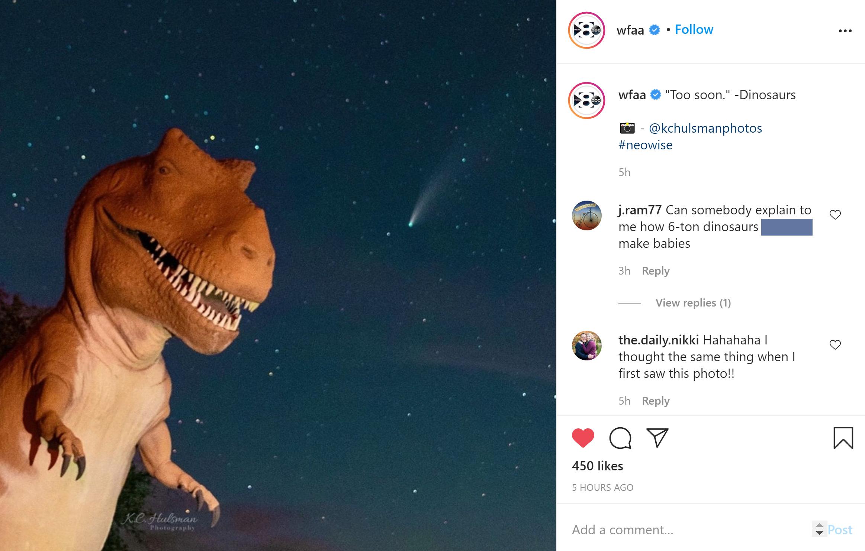 kchulsman_wfaa_dinosaur_comet